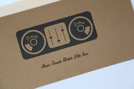 music lovers concert ticket wedding invitation vintage wedding