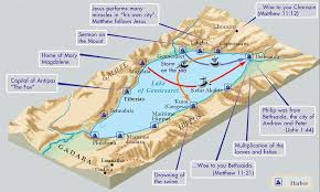 Map Of Israel In Jesus Time The Sea Of Galilee U0026 Its Centrality To Jesus U0027 Ministry