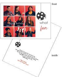 brady bunch custom corporate business 5x7 holiday photo card pj