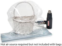 shrink wrap bags with pull bows shrink wrap gift basket bags