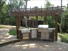 Bbq Kitchen Ideas Kitchen Outdoor Cooking Area Stainless Outdoor Sink Outdoor Bbq