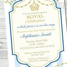 prince baby shower prince baby shower invitation prince 1st birthday invite