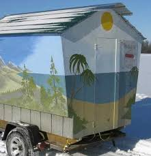 Cold Comfort Meaning Reel Cold Comfort 10 Creative Ice Fishing Hut Designs Urbanist