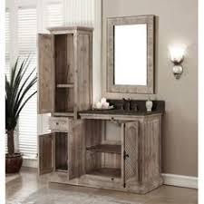 25 Rustic Style Ideas With Rustic Bathroom Vanities Single