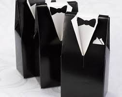 black tie party favors party favor box etsy