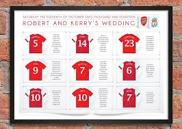 what to plan for a wedding football themed wedding table plans