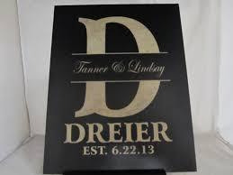 personalized wedding plaque 8 x10 black wood wedding plaque personalized laser engraved