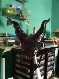 halloween dixie cups maleficent horns i made out of duct tape used wire plastic cups