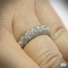 Wedding Ring On Right Hand by Champagne Pave