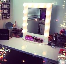 vanity makeup mirror with light bulbs see yourself clearly lighted makeup mirrors blake lockwood medium