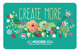 thanksgiving email cards a c moore gift card