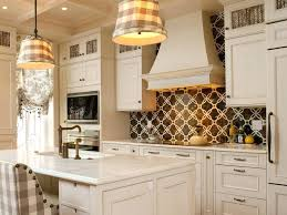 black backsplash in kitchen brown backsplash tile kitchen with white cabinets l shape brown