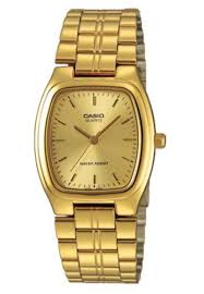 Jam Tangan Casio Gold jual casio casio analog jam tangan pria gold rantai mtp