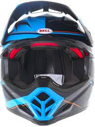 bell motocross helmets bell blocked blue 2017 moto 9 flex mx helmet bell