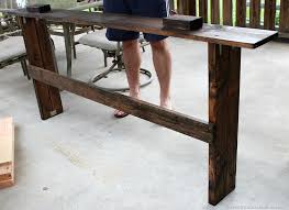 Desk With Outlets by Diy Sofa Table With Outlet U2014 Home Design Stylinghome Design Styling
