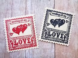 timbre poste mariage enveloppe de papier cartonné autocollants amour scelle timbre