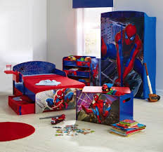 Spiderman Wallpaper For Bedroom Bedroom Wallpaper Hi Res Cool Boys Room Spiderman Theme Bed And