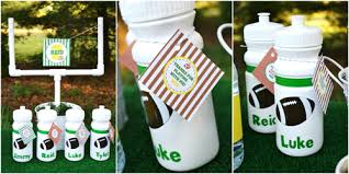 football party favors football tailgate party reveal
