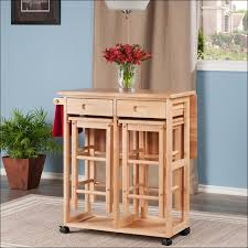 kitchen islands clearance kitchen cart with stools foldable cart woodlight oak winsome