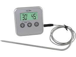 sonde de temperature cuisine thermomètre de cuisson et de four à sonde amovible 0 c à 250 c