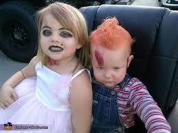 Chucky Halloween Costume Toddler Chucky Bride Halloween Costume