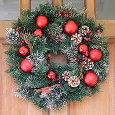 christmas wreath whitehall decorated christmas wreath 22 inch all