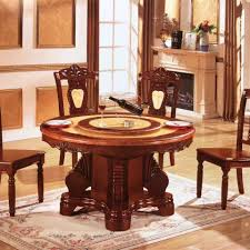dining table with rotating rotating dining table designs