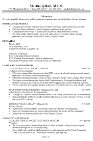 Librarian Resume Example by Resume Sample For A Public Librarian Susan Ireland Resumes