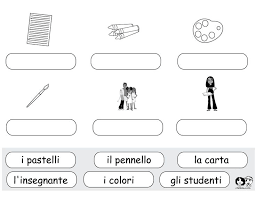 primary school worksheets 84 best italian for images on learning italian