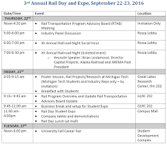Home Expo Design Center Michigan 3rd Annual Rail Day And Student Expo Rail Transportation Program