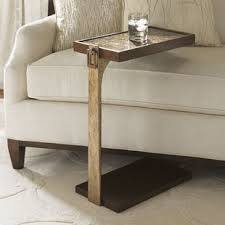 adjustable couch table tray slide under sofa tray table wayfair