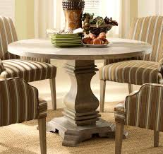 furniture picturesque round weathered gray wood jozy drop leaf