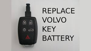 how to change remote key fob battery in volvo s40 v50 v70 c30 c70