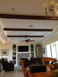 Ceiling Fan For Living Room by Architecture Inspiring Ceiling Construction Ideas With Faux Wood