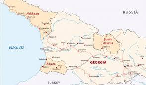 map of abkhazia where is abkhazia worldatlas