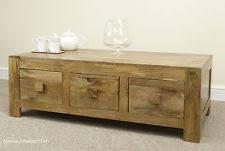 mango wood coffee table with storage mango coffee table ebay