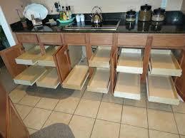 kitchen cabinets sliding shelves cabinet pull out shelves kitchen