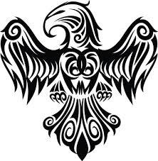 tribal aztec design