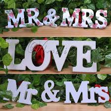 Home Letters Decoration by Wooden Letters For Wedding Decoration Gallery Wedding Decoration