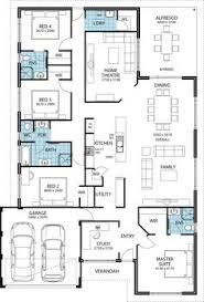 Double Story House Floor Plans Breeze Large Two Storey House Plans Perth Builder Switch