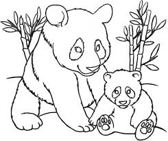 cute panda coloring pages with regard to inspire in coloring