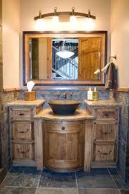 rustic bathroom ideas best 25 rustic bathroom vanities ideas on small realie