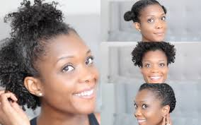 Hairstyles Easy And Quick by 4 Quick U0026 Easy Gym Hairstyles For Short Natural Hair San