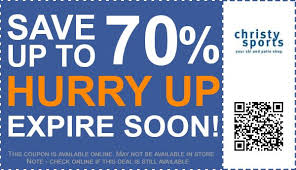 Christy Ski And Patio Christy Sports Coupons 70 Off Coupon Promo Code November 2017