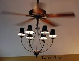 Flush Mount Cage Light Fancy Ceiling Fans Fancy Blade Home Decor Ceiling Fan Blade Cover
