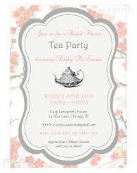 bridal tea party invitation wording floral bridal shower tea party invitation printable bridal tea
