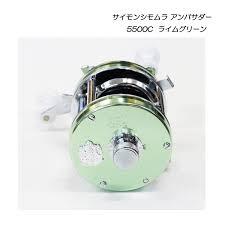 abu 5500c abu garcia simon shimomura ambassadeur 5500c lime green tackle