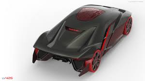 lamborghini back prophetic design of an augmented reality lamborghini