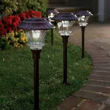 Solar Landscaping Lights 3 Types Of Solar Landscape Lighting Best Solar Garden Lights