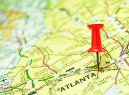 Metro Atlanta County Map by Metro Atlanta Top Employers